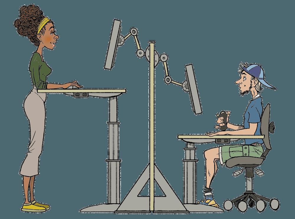 arbeidsstilling
